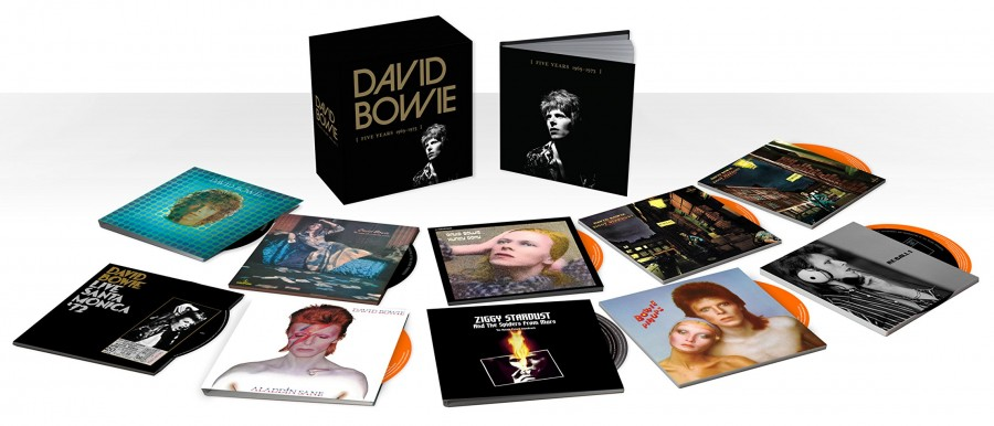David Bowie Five Years Coffret 12 CD et 13 Vinyles