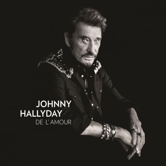 Johnny Hallyday, son nouvel album de l'amour en précommande sur Amazon