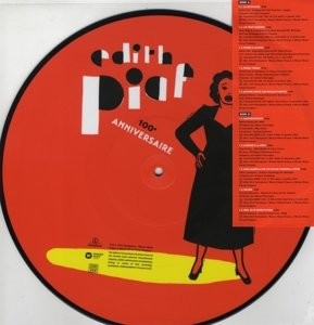 picture disc Edith Piaf