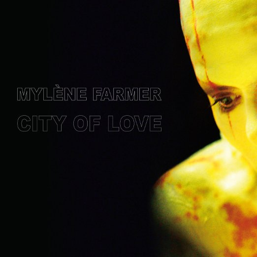 album vinyle city of love Mylene Farmer