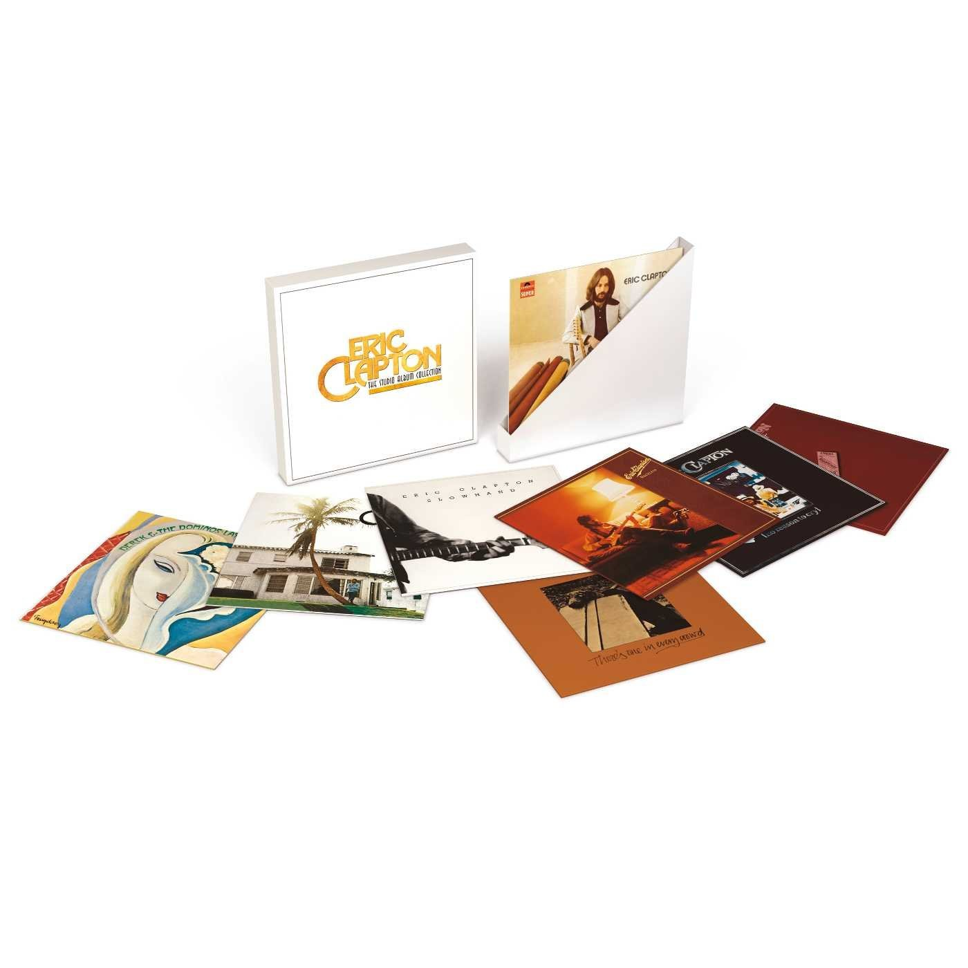 coffret collection studio Eric Clapton